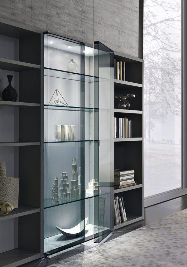 crossing modern living room bookshelves misuraemme