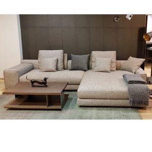 Экспозиция дивана Atlas и журнального стола Noth в продаже
